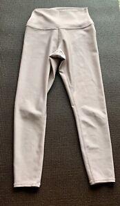 Alo Yoga High Rise Pink Blush Crop Leggings Size Small GORGEOUS!!  Mint!!