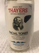 Thayers Alcohol-Free Unscented Witch Hazel Toner Aloe Vera Formula Facial Toner