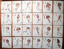1963 Stancraft HOF Playing Card U PICK Groza Conerly Lavelli Bednarik Hirsch