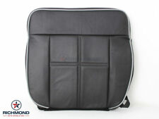 2007 Lincoln Mark LT -Driver Side Bottom Replacement Leather Seat Cover Black