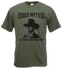 Apocalypse Now, Charlie Don't Surf T-Shirt Unisex Uk Fast Free Post Cotton Uk