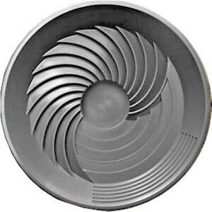 "Turbo Pan Black 16"" Plastic Gold Pan Sluice Panning Prospecting Gem Turbopan"