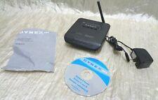 Dynex DX-WGRTR 1-Port 10/100 Wireless G Router (DXWGRTR) USED- WORKS (BIN 22)