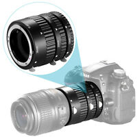 Neewer Auto Focus ABS Extension Tubes Set 12mm 20mm 36mm for Nikon DSLR Cameras