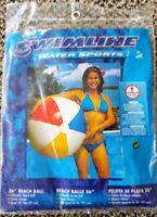 Swimline Classic Beach Ball - Brand New