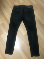NWD Mens Diesel TROXER Stretch Denim R9F66 BLACK Slim W31 L30 H6 RRP!150