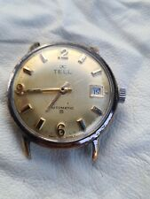 TELL WATCH AUTOMATIC WITH ETA 2472 for spare and repair or parts