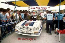 Ari Vatanen Opel Ascona 400 Acropolis Rally 1983 Photograph 1