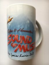 The Sound Of Music Julie Andrews Mug Collectable DVD Musical Merch White China