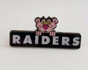 NFL - LAS VEGAS RAIDERS PINK PANTHER COLLECTIBLE PIN - FREE SHIPPING!!