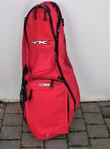 TK Hockey bag. Plus shin guards and hockey ball.