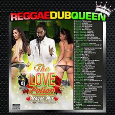 Silver Bullet Sound - The Love Potion Mixtape. Lovers Rock Reggae Mix CD.