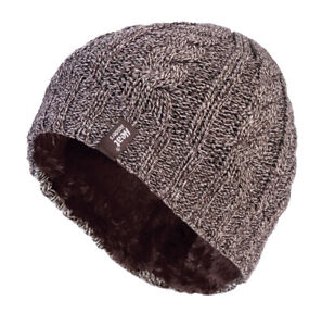 Ladies Cable Knit 3.4 tog Heatweaver thermal Hat by Heat Holders 5 colours