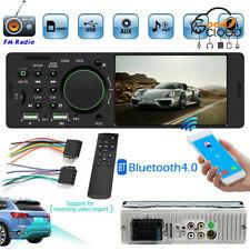 "2020 Single 1Din 4.1"" Car Stereo MP5 Player Bluetooth USB AUX RCA FM Radio w/RC"