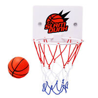 Kids Mini Basketball Hoop Toys Suck Wall-Mounted Stand ABS Funny Sport Toy Set