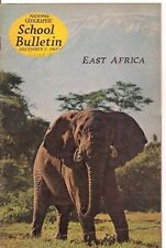 national geographic-SCHOOL BULLETIN-dec 9,1963-EAST AFRICA.