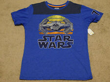 MEN'S STAR WARS TIE ADVANCED T-SHIRT - Size X-Large (New With Tags)