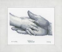 Vervaco-contati Punto Croce Kit-Nascita Scarpine RECORD II 2002 \ 45.698