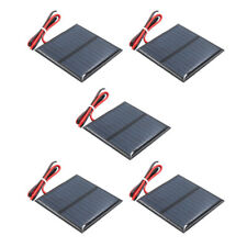 5x Mini Solar Panel Small Cell Module Charger for Mobile Phone 5.5V 80mA