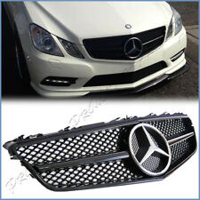 For C207 W207 Benz 10-13 E-Coupe Convertible Mist Black Mesh A Look Front Grille