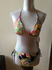 NEW TRINA TURK BEACH SWIM SPA BIKINI TOW PIECE SIZE 10 SWIMWEAR Paisley/Floral
