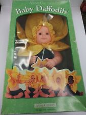 Anne Geddes Baby Daffodils Doll, No. 526574, Vintage, In Original Box,