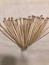 30 Wooden Honiton Lace Bobbins