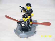 Lego 3 Minifig WW2 Wehrmacht Soldiers River Assault