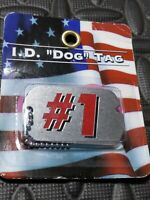 New Number 1 I.D Dog Tag 26'' Chain Free Ship