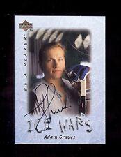 ADAM GRAVES New york Rangers 1995-96 BAP Hockey Certified Signature AUTOGRAPH