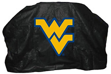 NCAA West Virginia Mountaineer Grill Cover 59 In Protect Weather Resistant Vinyl