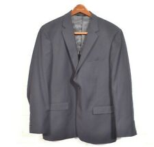 Caravelli 44L 38 x 34 Navy Blue Super 150s 2 Button Suit