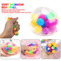 Squishy Mesh Sensory Stress Reliever Ball Toy Autism Squeeze Anxiety Fidget US