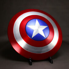 1:1 Avengers Captain America Shield Alloy Metal Ver. Cosplay For Prop Display