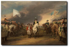 The Surrender of Lord Cornwallis at Yorktown, by John Trumbull-Revolutionary War