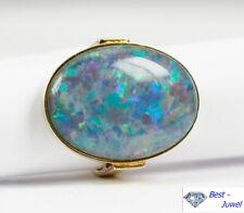 Auffallender Ring in 585 Gold mit Opal-Triplette