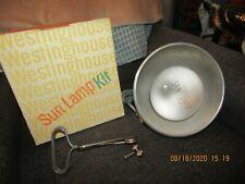 Vintage working Westinghouse Sun Lamp Kit.