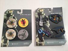 *Rare* Bungee HALO 3 Mini Pin & Button Set - 2007 Spartan Master Chief BRAND NEW
