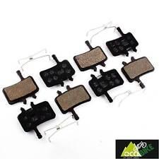 Plaquettes frein à disque AVID JUICY 3,5,7,carbone, 4 paires avid juicy pads