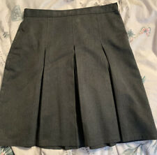M&S Grey School Skirt Age 13-14