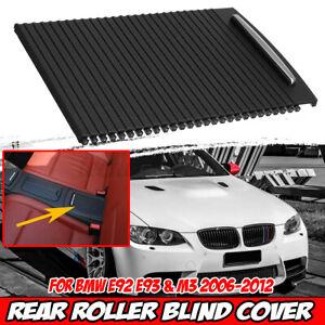 Rear Center Console Roller Blind Cover 51166963913 5116696094 For BMW E92 E93 M3