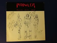 PROWLER~PROWLING DEATH SQUAD  Tursha 1985 all ORIGINAL 1st PRESS A/B ~ signed Nm
