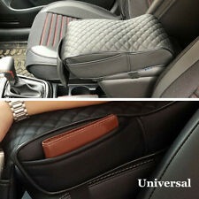 Universal Black Car Seat Armrest Cushion Center Console Memory Foam Soft Pad