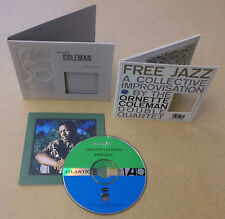 ORNETTE COLEMAN Free Jazz Deluxe Edition 1998 US CD with card sleeve & booklet