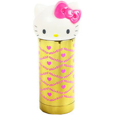Hello Kitty Face Thermos Mug Bottle Stainless Gold Pink 360ml Sanrio JAPAN