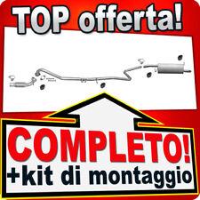 Scarico Completo FORD FIESTA 1.4 TDCI 68PS 05-08 +Tubo Anteriore X59