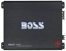 BOSS Audio R3400D Riot 3400 Watt, 1, 2, 4 Ohm Stable Class D Monoblock Car Ampli