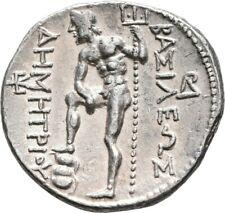 LANZ KINGDOM MACEDON DEMETRIOS I AMPHIPOLIS TETRADRACHM SILVER GREEK §EDU152