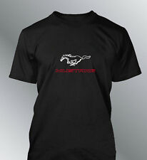 Tee shirt personnalise Mustang S M L XL XXL homme GT500 shelby muscle car