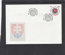 Slovakia 2016 Police 25th Anniversary First Day Cover FDC Bratislava pict h/s